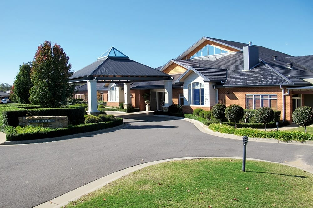 Albury clubhouse-front